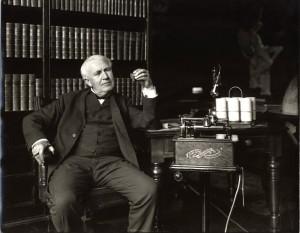 Thomas Edison (foto trattta da: www.fanpage.it)