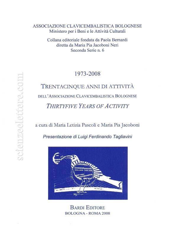 Trentacinque anni di attività della Associazione Clavicembalistica Bolognese