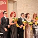 Il cast del Gran Galà (foto Giuseppe Laudadio)