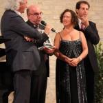 Da dx: il maestro Maurizio Petrolo e la regista Giovanna Muller (foto Giuseppe Laudadio)