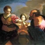 Carlo Maratta: Rebecca ed Eliezer al pozzo