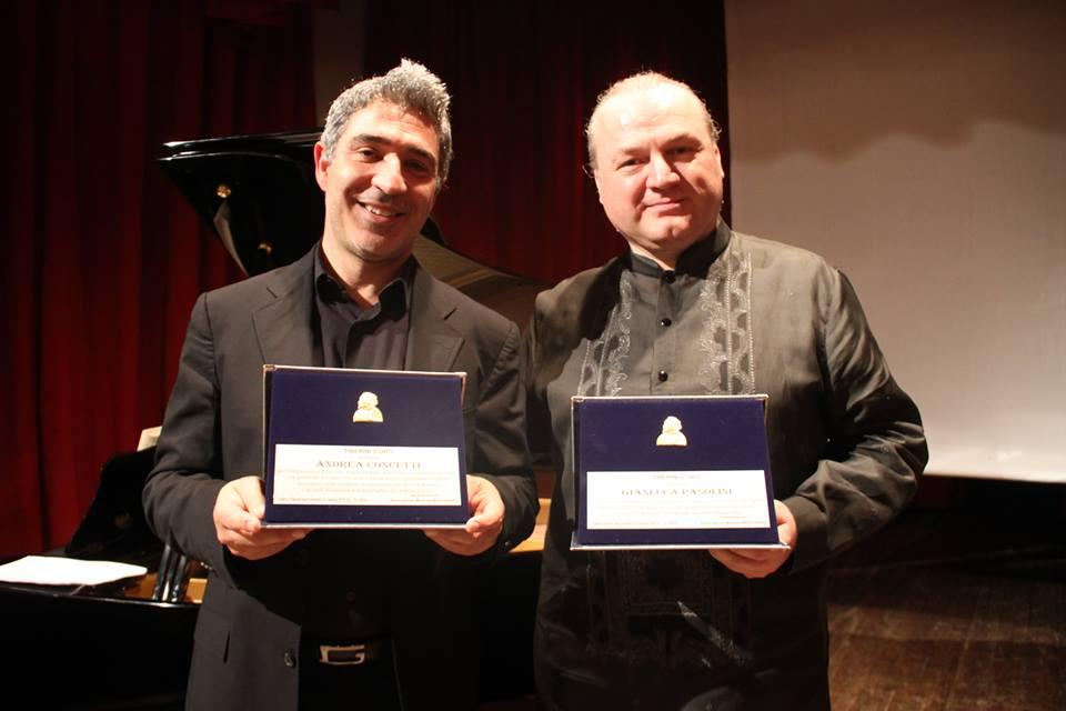 Premio Tiberini ad Andrea Concetti e Gianluca Pasolini