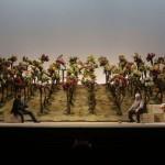 """Una scena del """"Don Pasquale"""" (foto Ennevi)"""