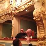Gasparon (a sx) e Pizzi presenti a teatro (fot Andrea Zepponi)