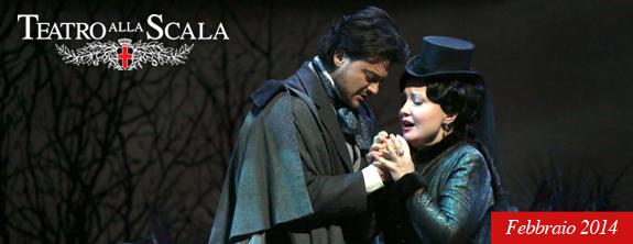 La Scala di Milano a Febbraio '14