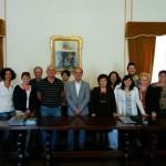 Foto 3-Docenti Comenius accolti dall'Amm. comunale di AM MusiCultura on line