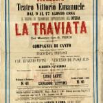 Altro manifesto di Traviata MusiCultuAon line