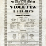 Manifesto per Traviata MusiCultura on line