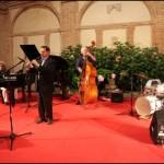 Riccardo Biseo, Gianni Sanjust,  Giorgio Ronciglione e Lucio Turco – foto Fratelli Serini Musiculturaonline