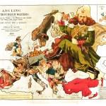 Fred W. Rose, Carta d'Europa 1899 Musiculturaonline