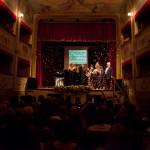 Un momento suggestivo del premio Tiberini Musiculturaonline