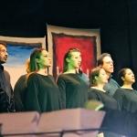 Ensemble vocale Orpheus  In primo piano M. Massimo D'Ignazio – foto di Laura Panno Musiculturaonline