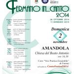 Locandina Fermano in…canto 2014 – Amandola A4