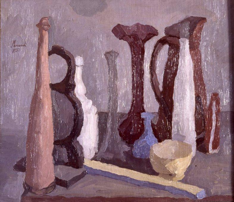 Uno sguardo alle opere e uno all'esistenza umana: Giorgio Morandi 1890 – 1964