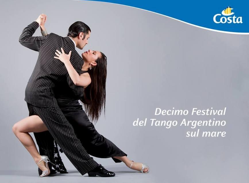 Tango argentino: X Festival sul Mediterraneo con Costa Crociere
