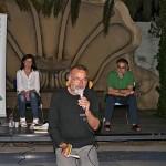 da sinistra Simonetta Paradisi, il poeta Franco Arminio e Mario Lucadei Musiculturaonline