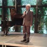 Il direttore artistico Vincenzo De Vivo presenta la master class