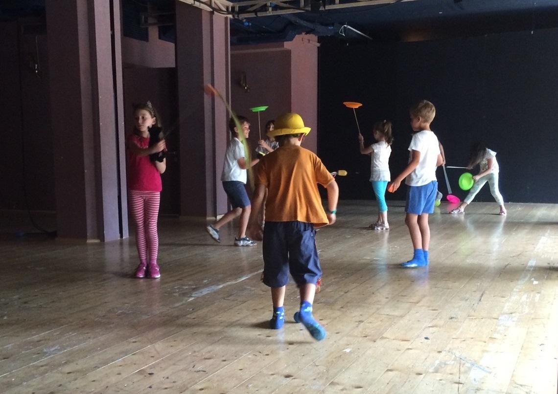 Laboratori Teatro-Circo-Musica per bambini