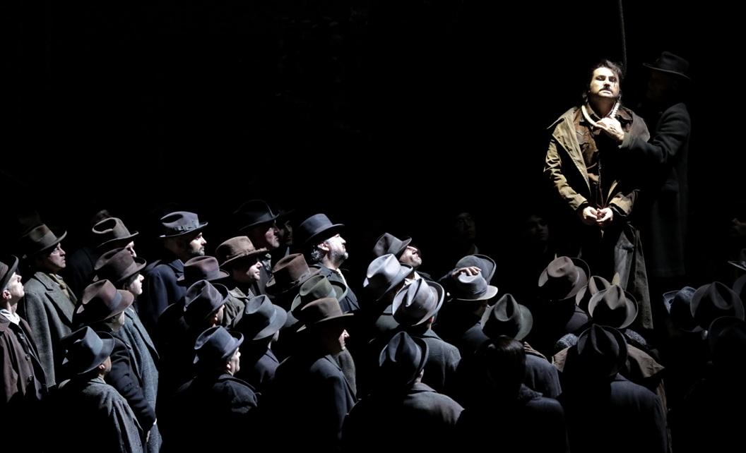 """Minnie, Dick e l'altro: """"La fanciulla del West"""" alla Scala"""