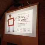 M. Grazia Diani e manifesto edizione 2014 di Disegni di Vetro Musiculturaonline