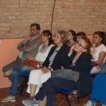 Roncarolo e pubblico alla conferenza a Casteggio (PV) –  Museo Oltrep+¦ Pavese – Musiculturaonline