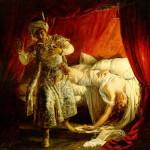 Otello e Desdemona di Alexandre-Marie Colin (1829) musiculturaonline