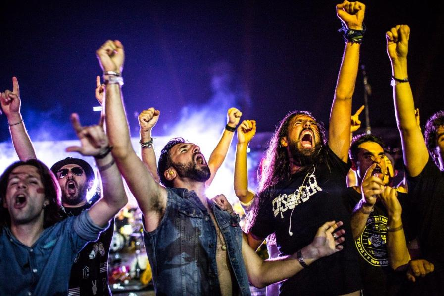 That's Live a Cesena: Rockin'1000 fa centro. Di nuovo!