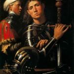 1.Giorgione, Ritratto di Guerriero Musiculturaonline