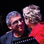 Gabriele Mirabassi e Tosca foto di Ambrosini MEDIA Musiculturaonline