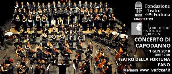 Il bel Concerto di Capodanno al Teatro della Fortuna di Fano