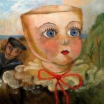 7) Bambola a mezza testa, 1960, olio, 31×38 cm Musiculturaonline