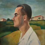 8) Il fratello Alberto, olio, 1939, 53x 63 cm Musiculturaonline
