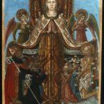 Gonfalone di Corciano, Bendetto Bonfigli, 1472. tempera su tela Musiculturaonline