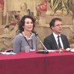 Dr.ssa Francesca Tasso e assessore Filippo Del Corno Musiculturaonline