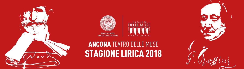 La XVI Stagione Lirica del Teatro delle Muse nel segno di Verdi e Rossini