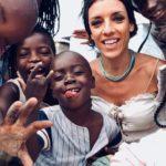 Carla Cocco e i bambini di Bauleni Musiculturaonline