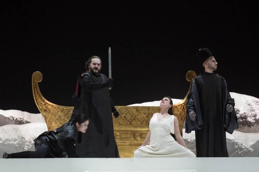 """""""Idomeneo re di Creta"""", per la regia di Pizzi, torna al Teatro Massimo di Palermo"""