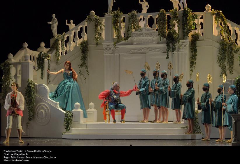 """Splendida """"Dorilla in Tempe"""" di Vivaldi al Malibran di Venezia"""