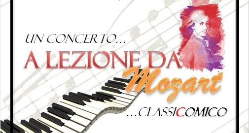 """""""A lezione da Mozart"""", a Bologna, con Matteo Farnè e Giada Maria Zanzi"""