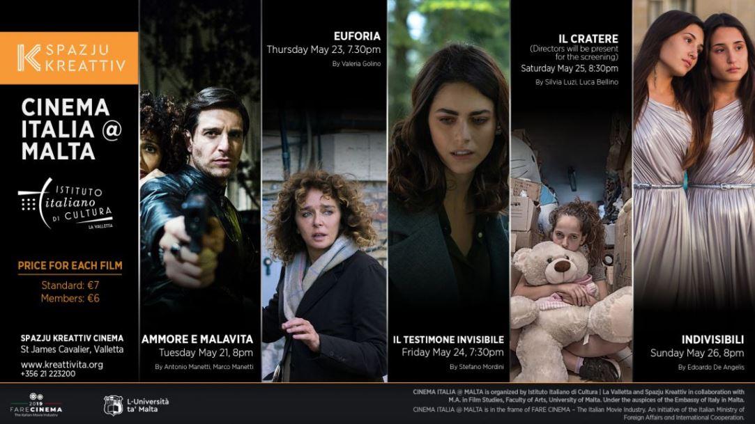 """""""Cinema Italia @ Malta"""" a La Valletta"""