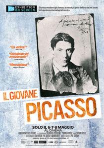 """locandina del film """"Il giovane Picasso"""""""