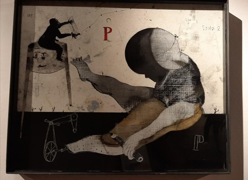 """""""Sono due"""", i disegni di Marco Fantini in mostra ad Ascoli Piceno"""