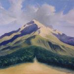 Sandro Sansoni, L'origine della vita, 1990, olio su tela, collezione privata Musiculturaonline