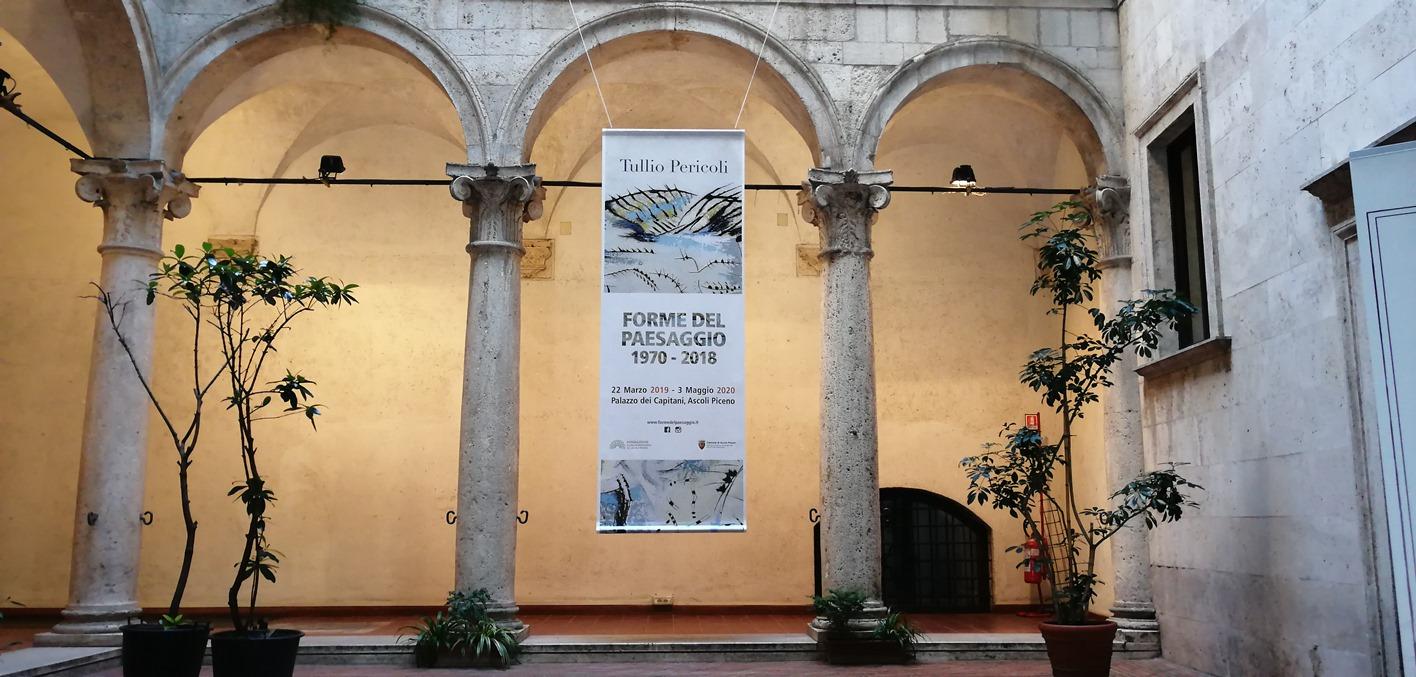 """Tullio Pericoli """"Forme del Paesaggio. 1970-2018"""", Mostra ad Ascoli Piceno"""