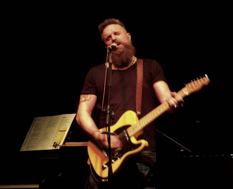 "Luca McMirti al ""GLORYDAYS IN RIMINI"" per Bruce Springsteen"