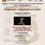 MANIF Premio Tiberini 2019 Vistoli Musiculturaonline