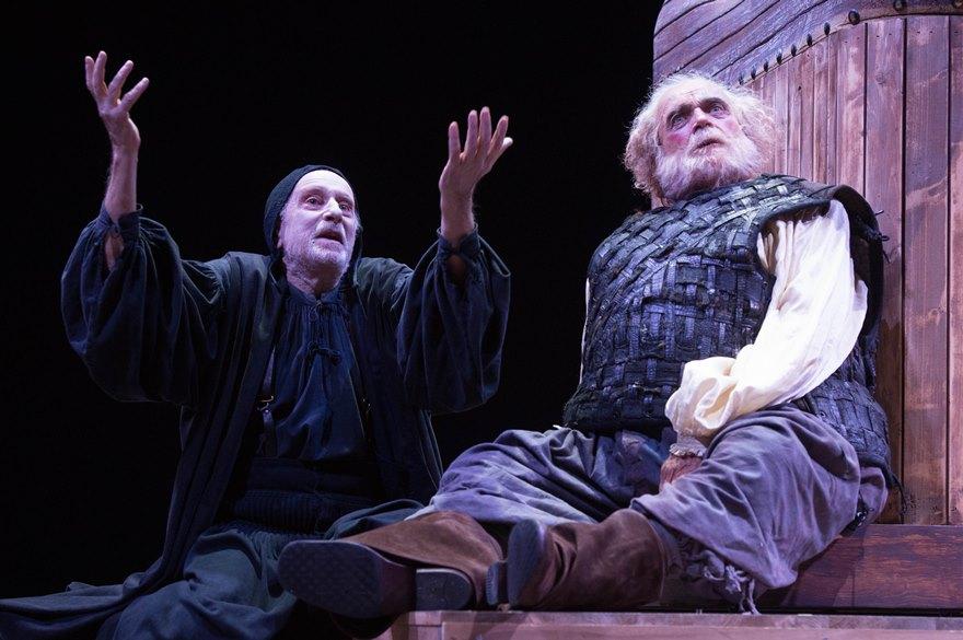"""""""Falstaff e il suo servo"""" ad Ascoli Piceno con Branciaroli e De Francovich"""
