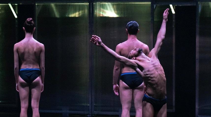 Audizione della Compagnia EgriBiancoDanza, a Torino, per la ricerca di danzatori e danzatrici