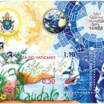 Francobollo Vaticano 50 Earth Day Musiculturaonline