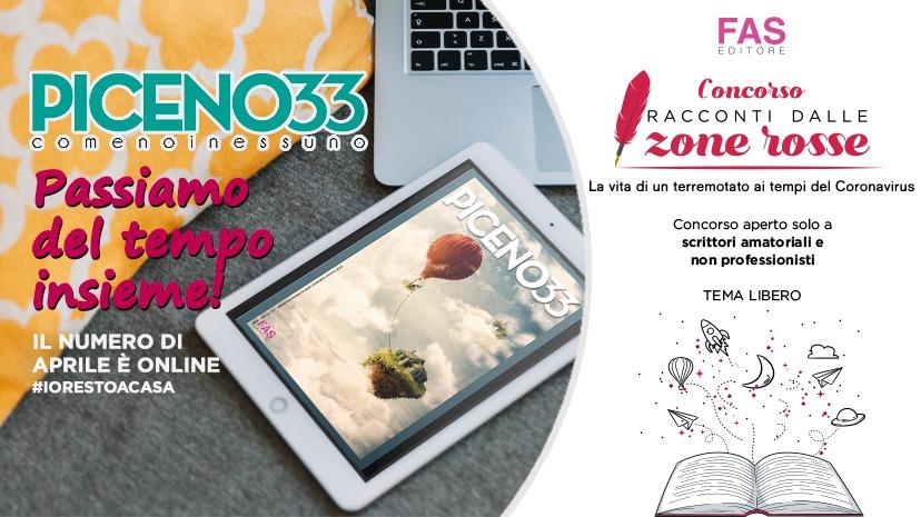 """""""Piceno 33"""" e il Concorso Letterario di Fas Editore"""